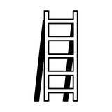 Stair construction tool isolated icon Royalty Free Stock Image