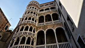 Stair de Contarini del Bovolo, dei Contarini del Bovolo Scala στοκ εικόνα με δικαίωμα ελεύθερης χρήσης