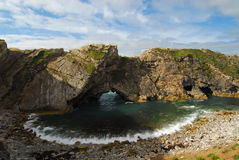 Stair Hole Lulworth Cove Royalty Free Stock Photo