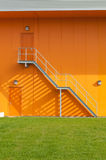 Stair on a industrial building Stock Photography