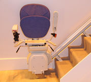 Stair Lift. Stock Photo