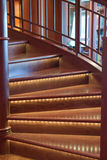 Stair Lights Royalty Free Stock Photos