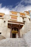 Stair and main entrance of Leh Palace Stock Photo