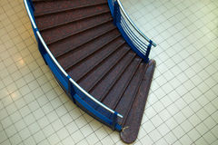 Stair in the mall. Broun stair in the mall Royalty Free Stock Photo