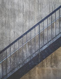 Stair metal Stock Photography