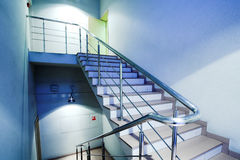 Stair in office Stock Photo