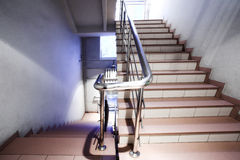 Stair in office Royalty Free Stock Photo