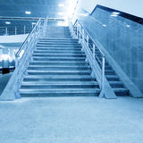 Stair in office hall Royalty Free Stock Photo