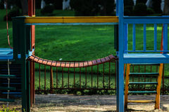 Stair in playground. Stair for children in playground Royalty Free Stock Photography
