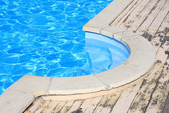 Stair in a pool Royalty Free Stock Photography