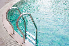 Stair pool Royalty Free Stock Photography