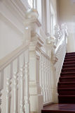 Stair with railing Stock Photo