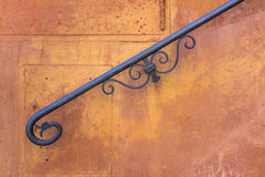 Stair railings. Banister of a Roman villa Stock Images