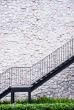 Stair on stone house Stock Photography