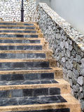 Stair stone Stock Photography