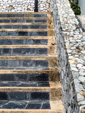 stair stone Stock Photo