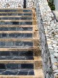 stair stone Stock Photo