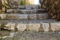 Stair-street villages in Provence Stock Photography