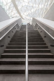 Stair in subway. Station use to enter building Stock Images