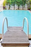 Stair in Swimming pool. Hua hin,Thailand royalty free stock images