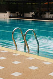 Stair, swimming pool Royalty Free Stock Images