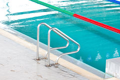 Stair At Swimming Pool. Stock Image