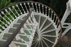Stair of Temperate House in Kew Garden, London Stock Image