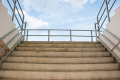 Stair to arena sport Stock Photography