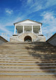 Stair to Cameron Gallery in Catherine park in the town of Pushkin Stock Images