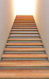 Stair to the future. A 3D illustration of the stair to the future stock illustration