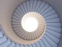 Stair to the future. Royalty Free Stock Photography