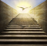 Stair to heaven Stock Photography