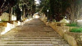 Stair to heaven .Escalera al cielo Royalty Free Stock Photography