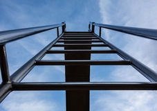 Stair to heaven. Stair to the heavens door Stock Image