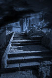 Stair to heaven or hell Royalty Free Stock Image