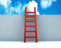 Stair to the sky Royalty Free Stock Photo