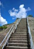 Stair to sky Stock Image