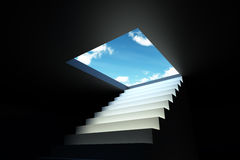 Stair to the sky Stock Photography