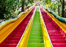 Stair to the temple Stock Photography