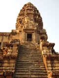 Stair to Third Level of Angkor Wat Royalty Free Stock Photo