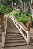 Stair to top of mountain Stock Image
