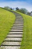 Stair uphill Stock Photo