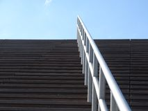 Stair way. Stairway to the blue sky Stock Images
