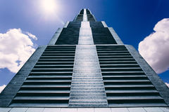 Stair way. To the heaven Royalty Free Stock Images