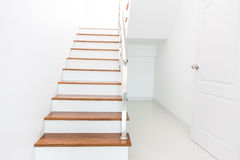 Stair wood royalty free stock image