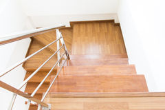 Stair wood Royalty Free Stock Photos