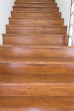 Stair wood Stock Image