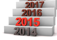 2015 Stairway Stock Photo