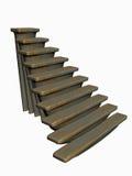 stair01 Arkivfoto