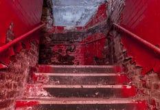 Staircace velho Imagem de Stock